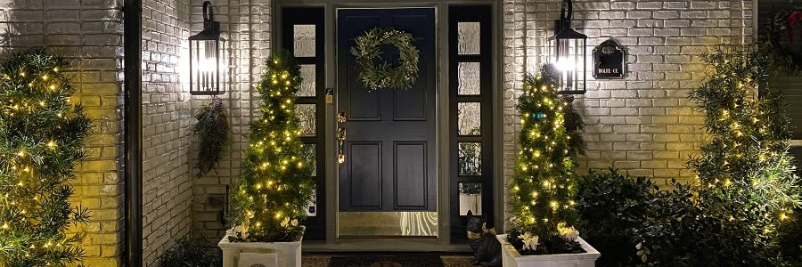Brighten up for the season with festive holiday lighting, seasonal containers & living décor!
